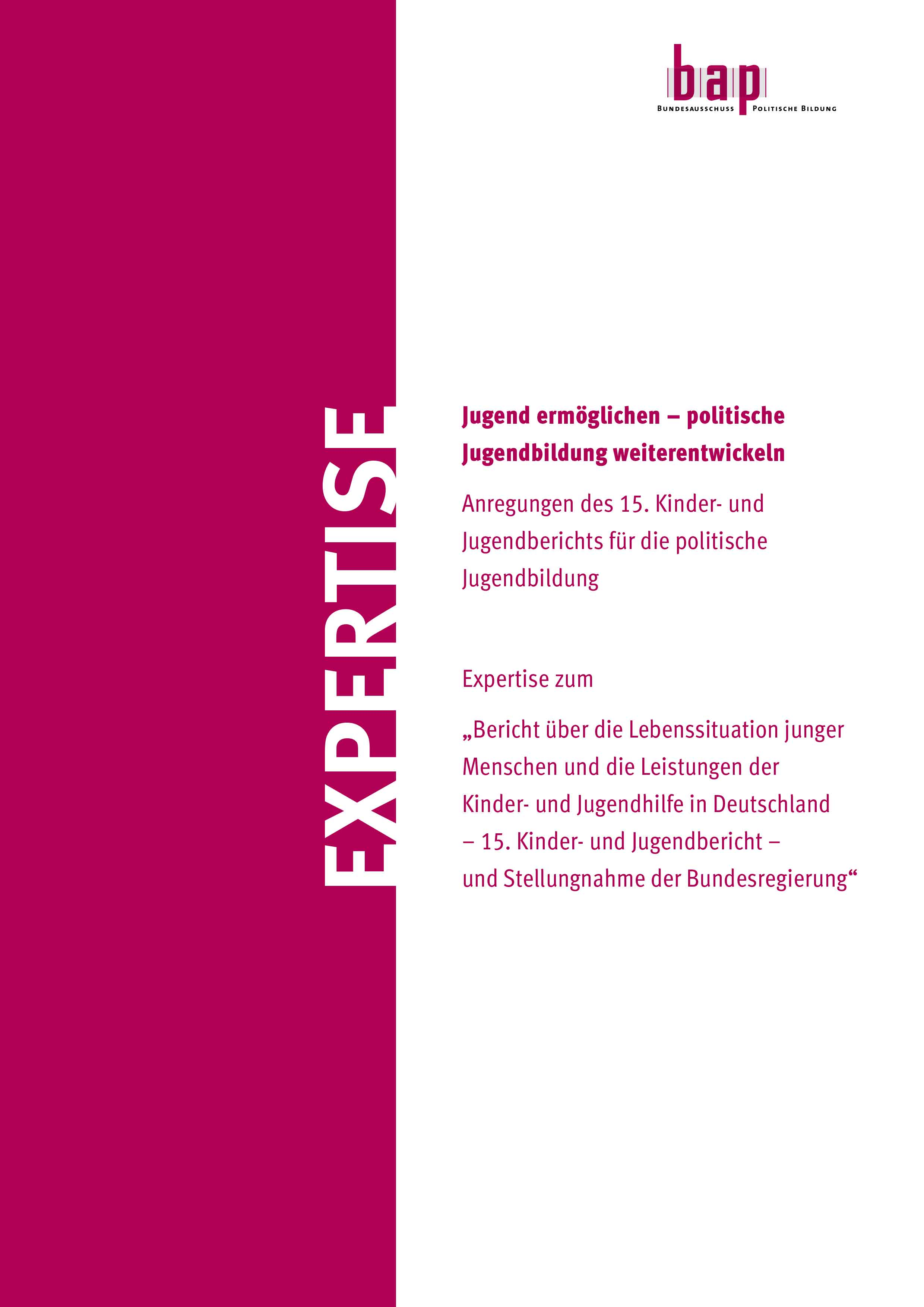 Expertise Cover