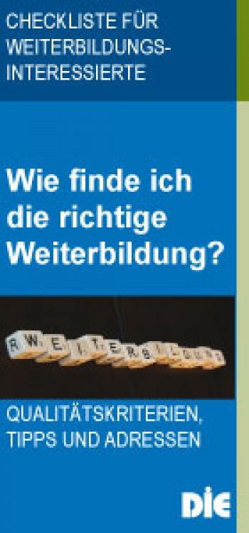 Checkliste für Weiterbildungsingteressierte - PDF herunterladen ...