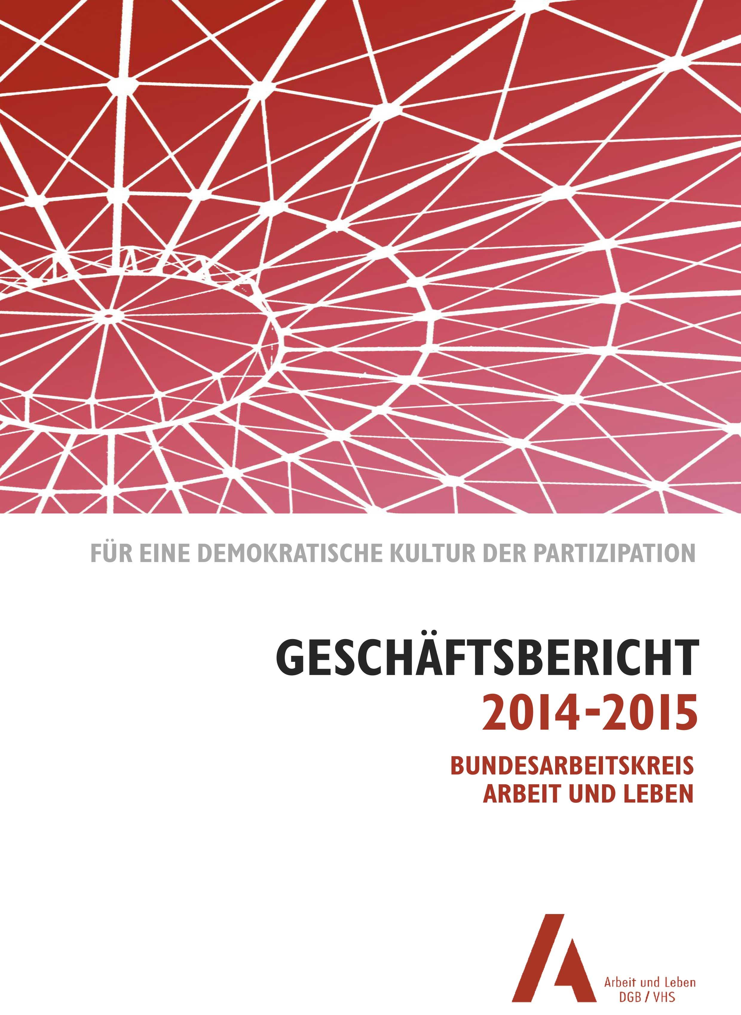 Geschäftsbericht 2014-2015