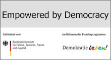 Empowered by democracy – Prävention, Demokratieförderung und Integration für und mit jungen Geflüchteten